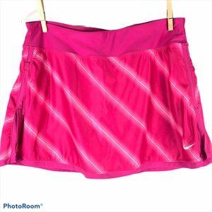 Nike Dri-Fit Tennis Skort Pink & White
